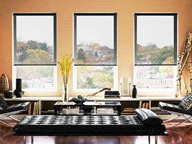 卷帘窗帘图片 18图兼具实用与美观
