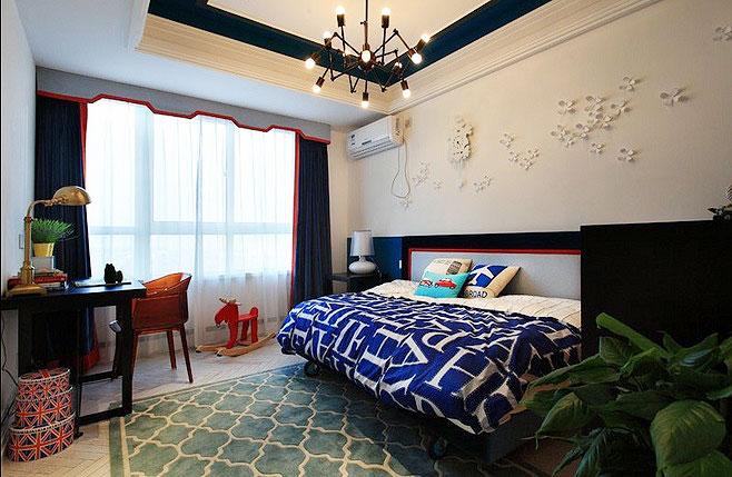 婚房造型卧室吊顶设计图片展示图片