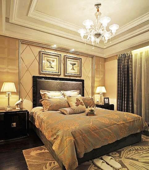 卧室石膏板吊顶设计图