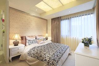 黄色卧室吊顶效果图