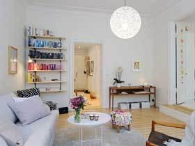 8万装温馨北欧清新二居设计案例
