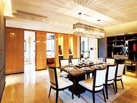 餐廳水晶燈設計 18款華麗用餐環境