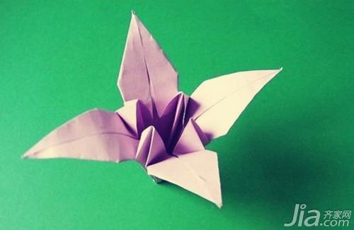 如何折纸百合花 百合花折法步骤介绍