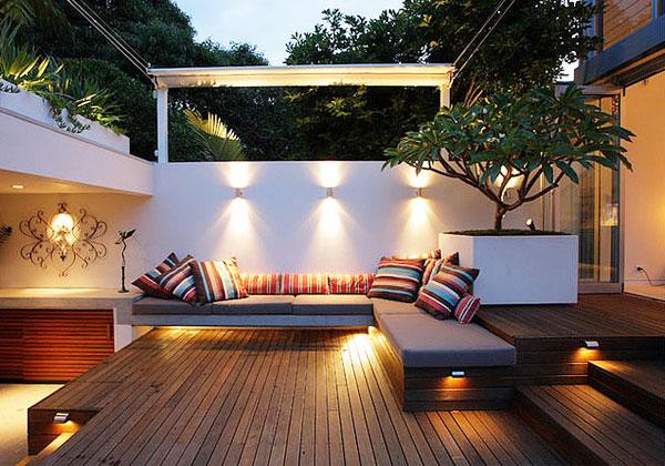 庭院灯具效果图