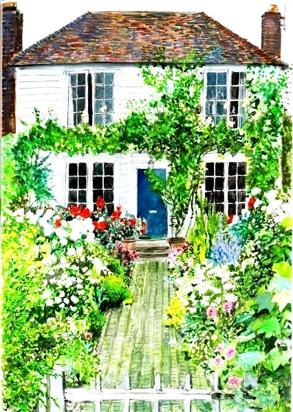 花园庭院栅栏效果图