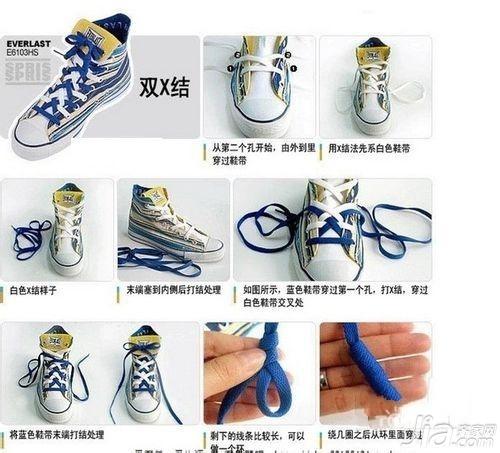 匡威鞋带系法_高帮匡威鞋带系法 六种高大上系法