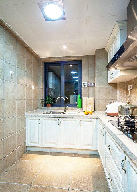 木质厨房吊顶效果图图片