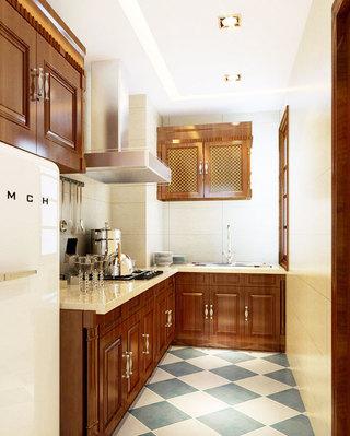 白色厨房吊顶效果图