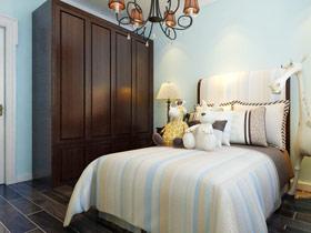 地中海卧室衣柜设计 演绎唯美家居