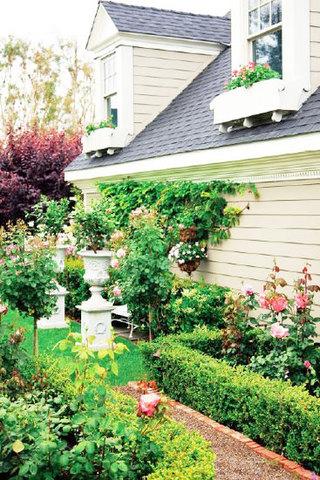花园庭院效果图