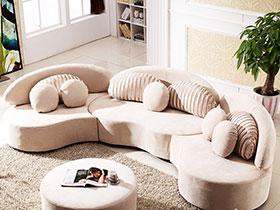 5款半圆形组合沙发 轻松制造温馨氛围