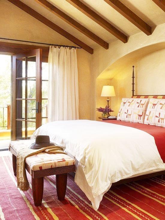 婚房卧室欧式吊顶图片