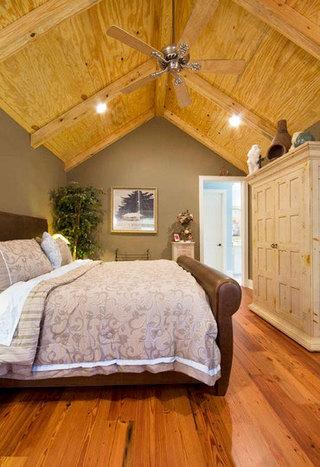 实木卧室吊顶效果图