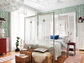 12張宜家臥室吊頂效果圖 個性十足