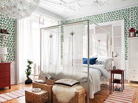 12张宜家卧室吊顶效果图 个性十足