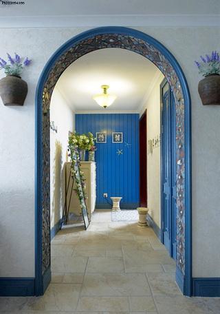 地中海玄关走廊图片