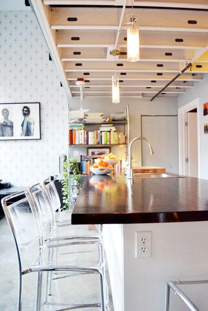 简约风格厨房灯具图片