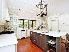 17张美式风格厨房灯具图片 高贵典雅