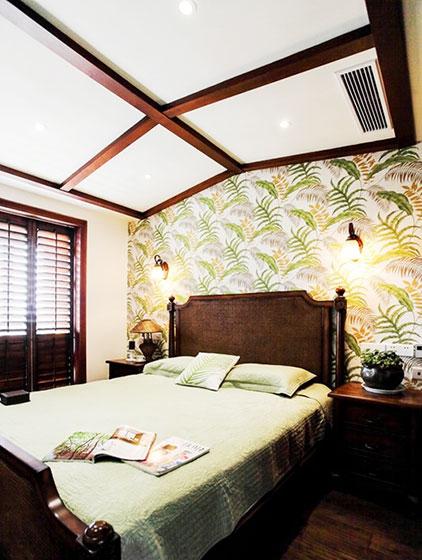 东南亚风格壁纸效果图设计