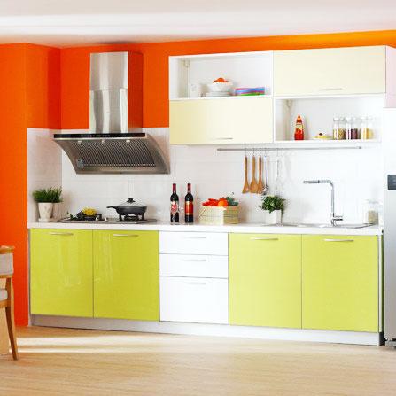 绿色橱柜设计图