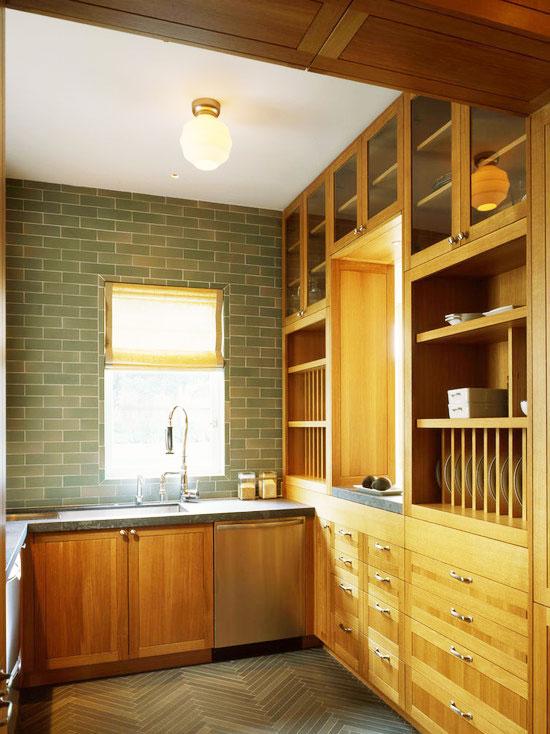 实木橱柜设计图