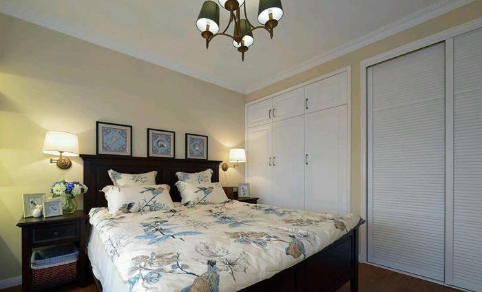 地中海整体卧室衣柜效果图