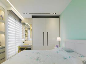 百搭色彩 13款白色衣柜設計