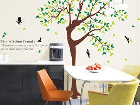 独具格调 17款餐厅手绘墙设计