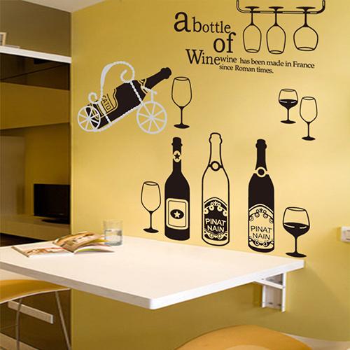 餐厅手绘墙设计图