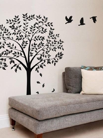 沙發手繪墻設計圖