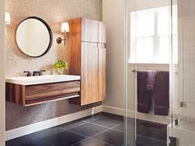 简约不简单 12张简约浴室柜效果图