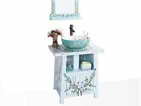13张地中海风格浴室柜图片 浪漫感十足