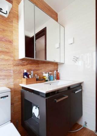 田园风格浴室柜装修效果图大全2014图片