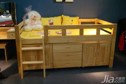實木兒童床