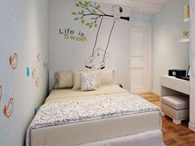 簡約兒童房 13款兒童床效果圖