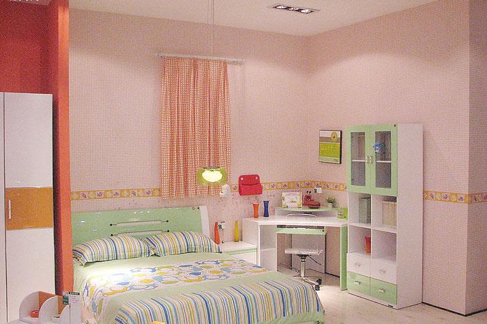 现代简约风格可爱白色儿童床图片_齐家网装修效果图