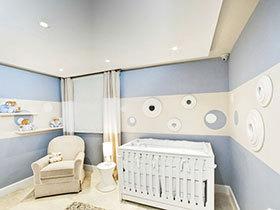 11张中式儿童房吊顶效果图 稳重大气