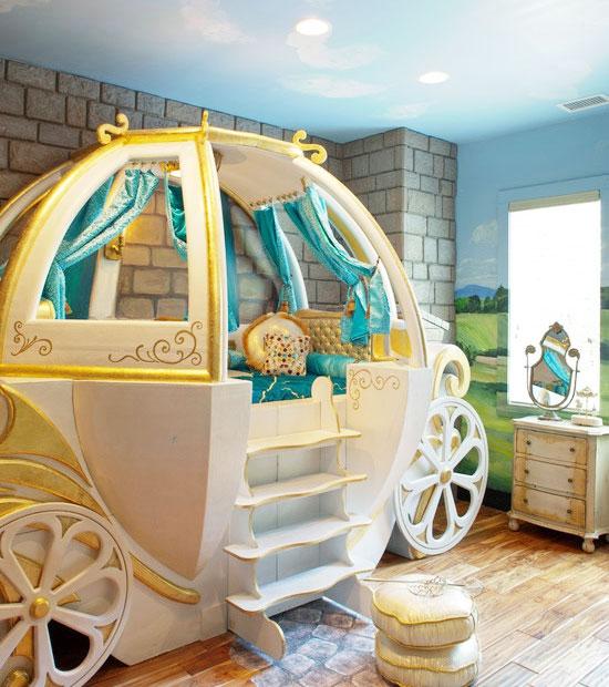 欧式儿童房吊顶装修效果图大全