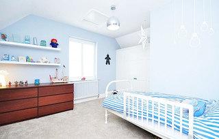 地中海白色儿童房吊顶装修图片大全