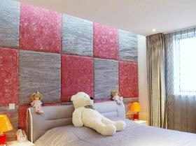 舒适华丽 15款卧室软包背景墙图片