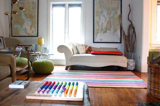 随意搭配客厅休息区设计效果图