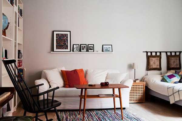 宜家客厅卧室设计效果图