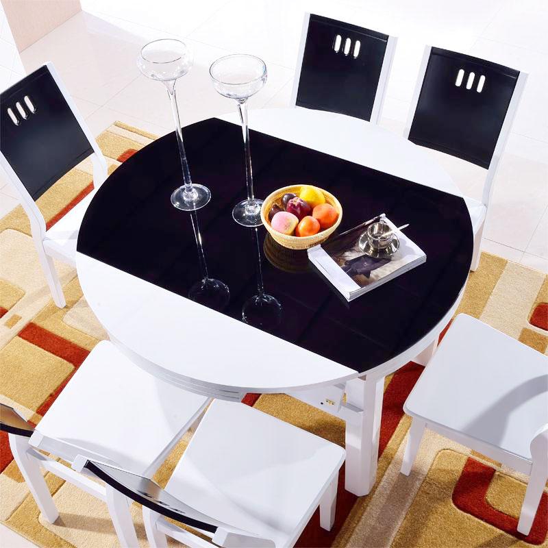 圆形餐桌设计图