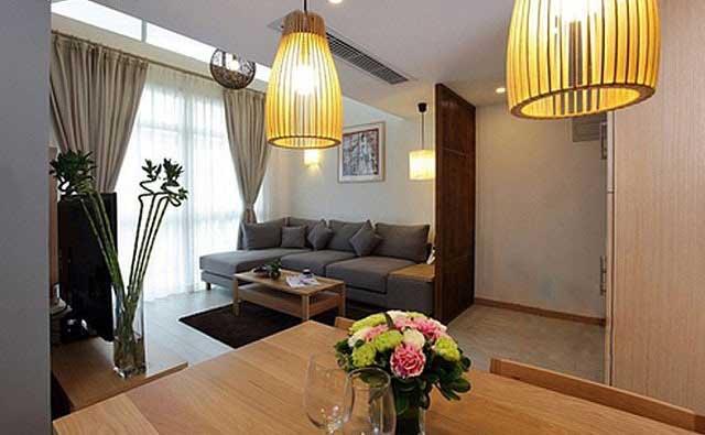 实用美观木色系客厅设计效果图