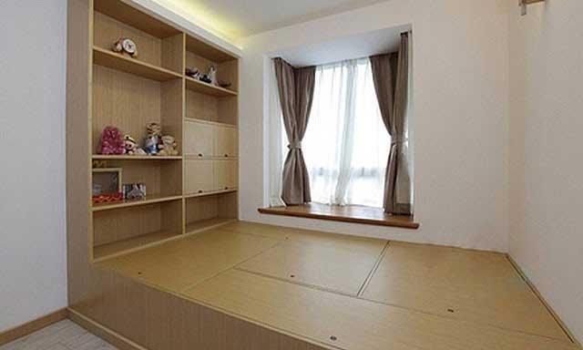 榻榻米儿童房设计效果图
