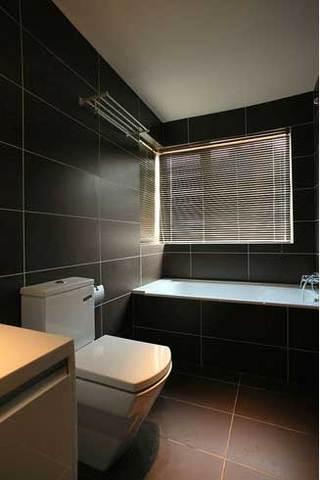 灰黑色个性浴缸设计图片