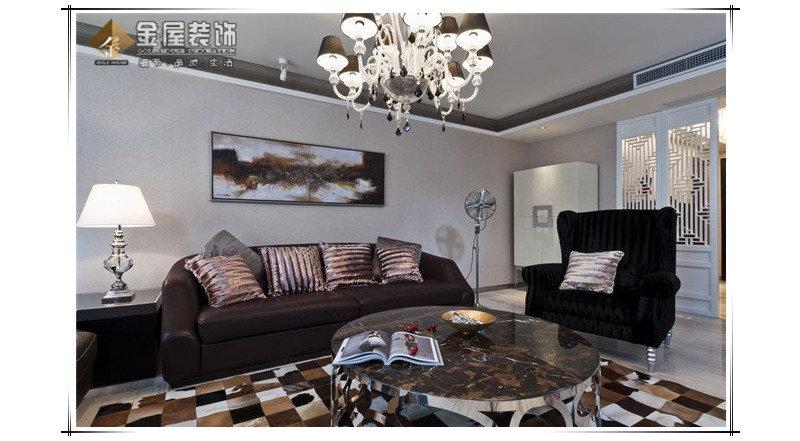 20万以上130平米古典三居室装修效果图,御景澜庭 装修案例效果图 高清图片