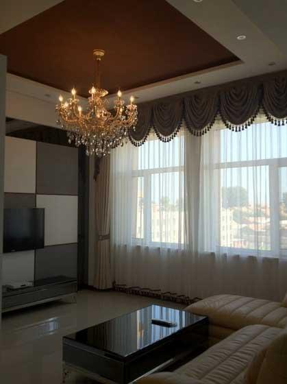欧式时尚古典客厅设计效果图图片