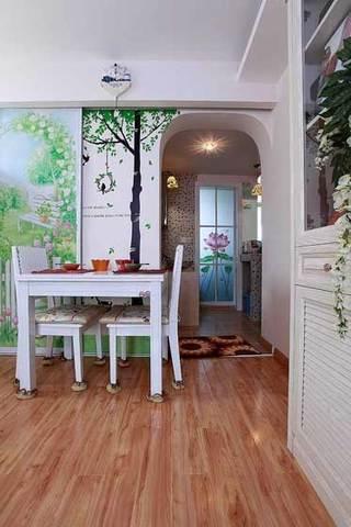 墙贴厨房推拉门设计效果图