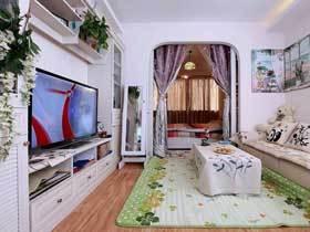 浪漫中式田园婚房装修 这套三居室满含幸福的味道